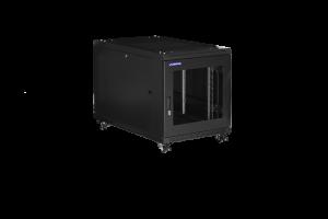 Prestaq serverkast B600*D1000*12HE - Geperforeerde deuren