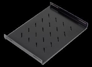 Prestaq vaste geperforeerde patchkast plank, 1HE, 600D