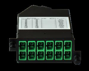 Zybrspeed cassette OS1 Singlemode 1x MPO > 12x SC APC
