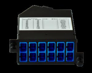 Zybrspeed cassette OS1 Singlemode 1x MPO > 12x SC
