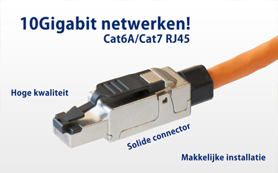 Cat.7 RJ45 connector is nu leverbaar